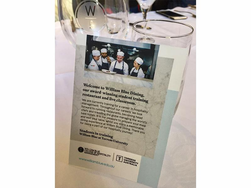 Award-Winning student training restaurant